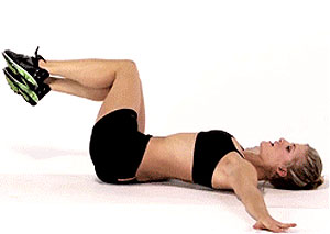 Core Exercise Butterfly Twist